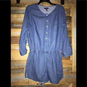 GAP Shorts - Gap denim short romper
